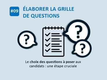 #09 Elaborer la grille de questions