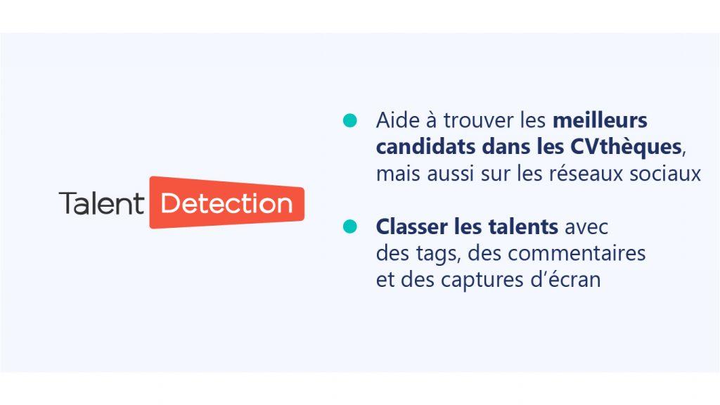TalentDetection, extension Google Chrome pour le recrutement