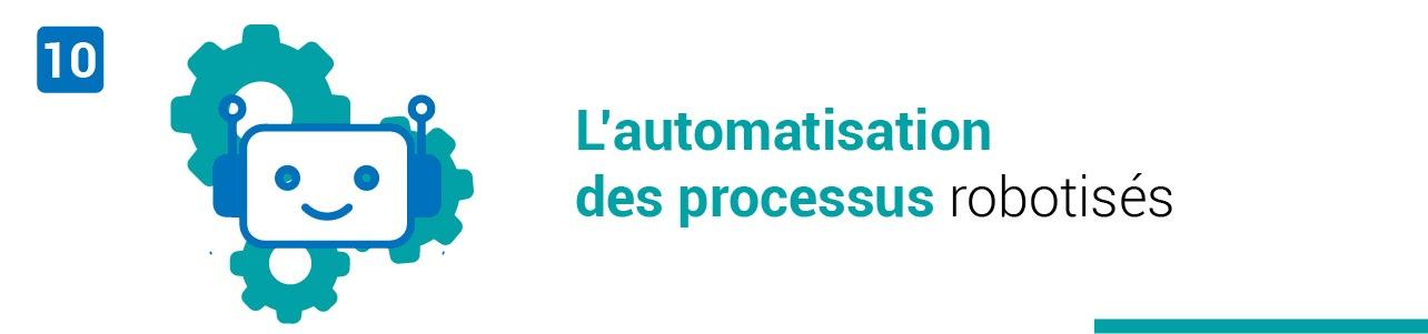 L'automatisation des processus robotisés