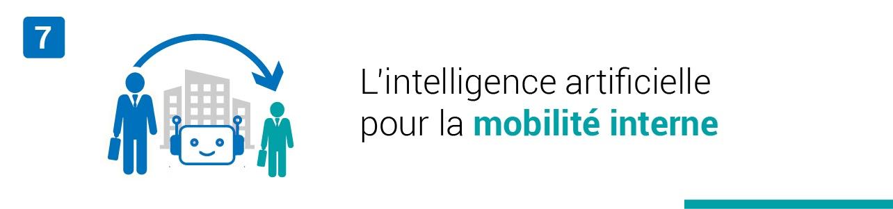 L'intelligence artificielle pour la mobilité interne